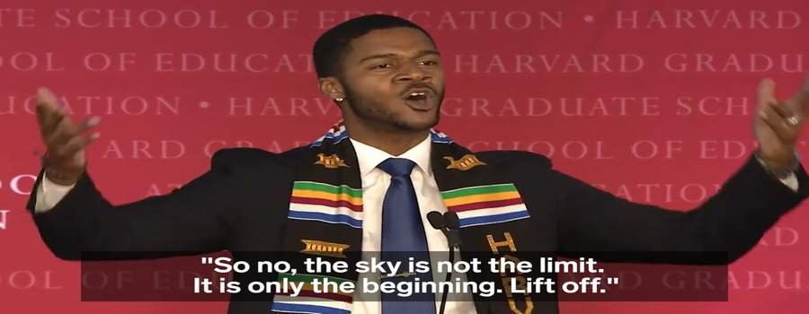 Havard student gives most powerful speech and emotional graduation speech that goes viral Donovan Livingston-