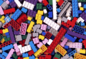 2000 Pieces Of Legos That Weighs 6kg, For Sale