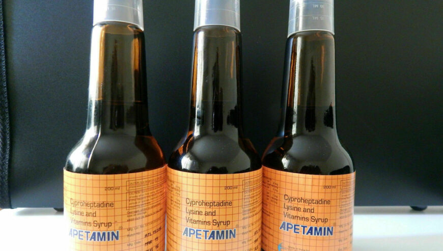 Apetamin Syrup For Weight Gain And Curves