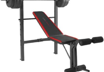 Weight Bench Dumbell Muscle Set