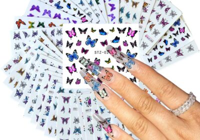 Nice Butterfly Nail Stickers