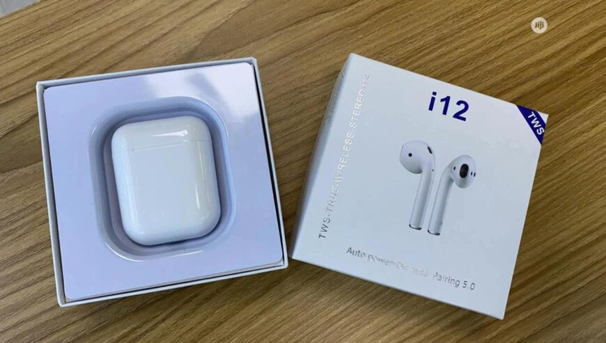 I12 Airpods + Free Delivery