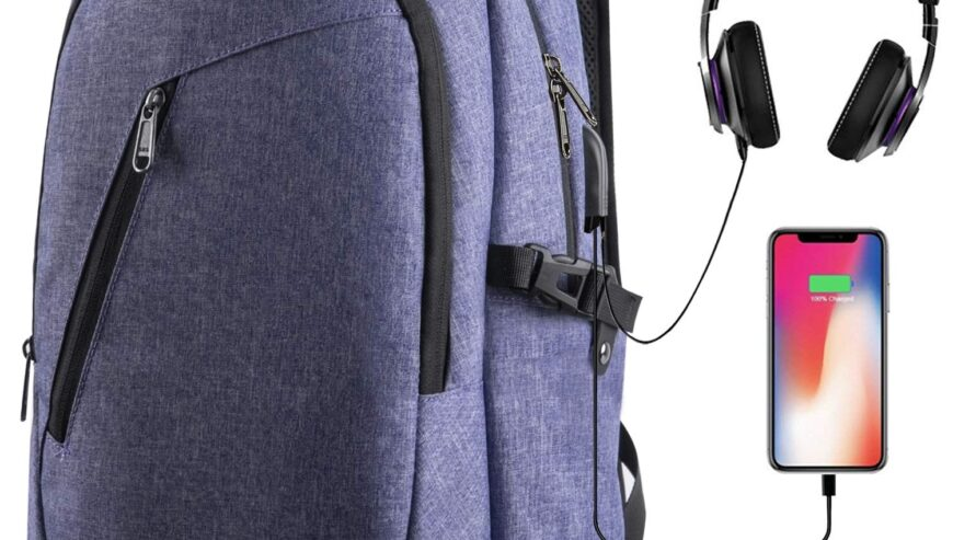Laptop Backpacks For School With USB SLOT