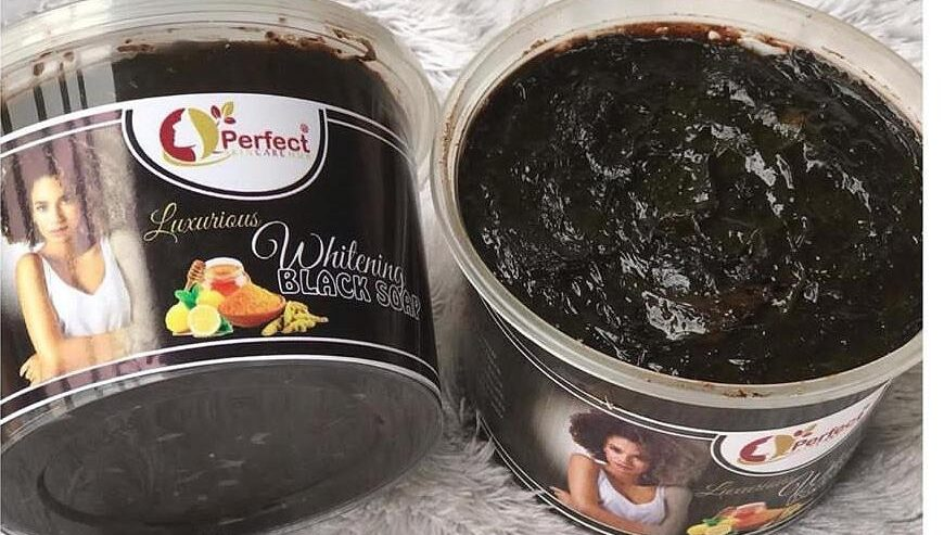 Our Whitening Black Soap For All Skin Types