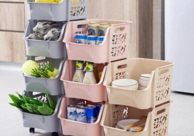 Stackable Baskets With Wheels