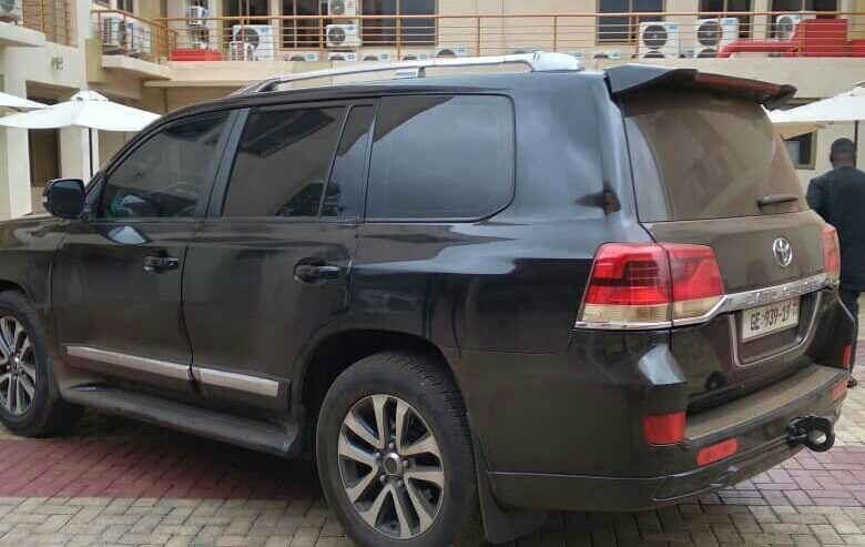 TOYOTA LANDCRUISERS FOR RENT IN ACCRA. COASTER BUS