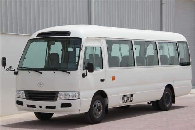 COASTER BUSES FOR RENT IN ACCRA